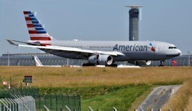 American A330