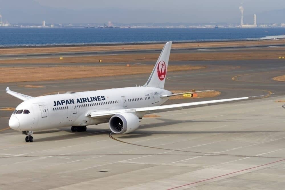 Japan Airlines Boeing