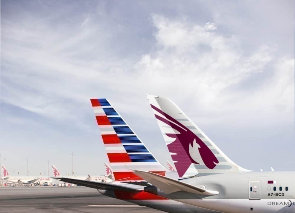 Qatar Airways, American Airlines, Codeshare
