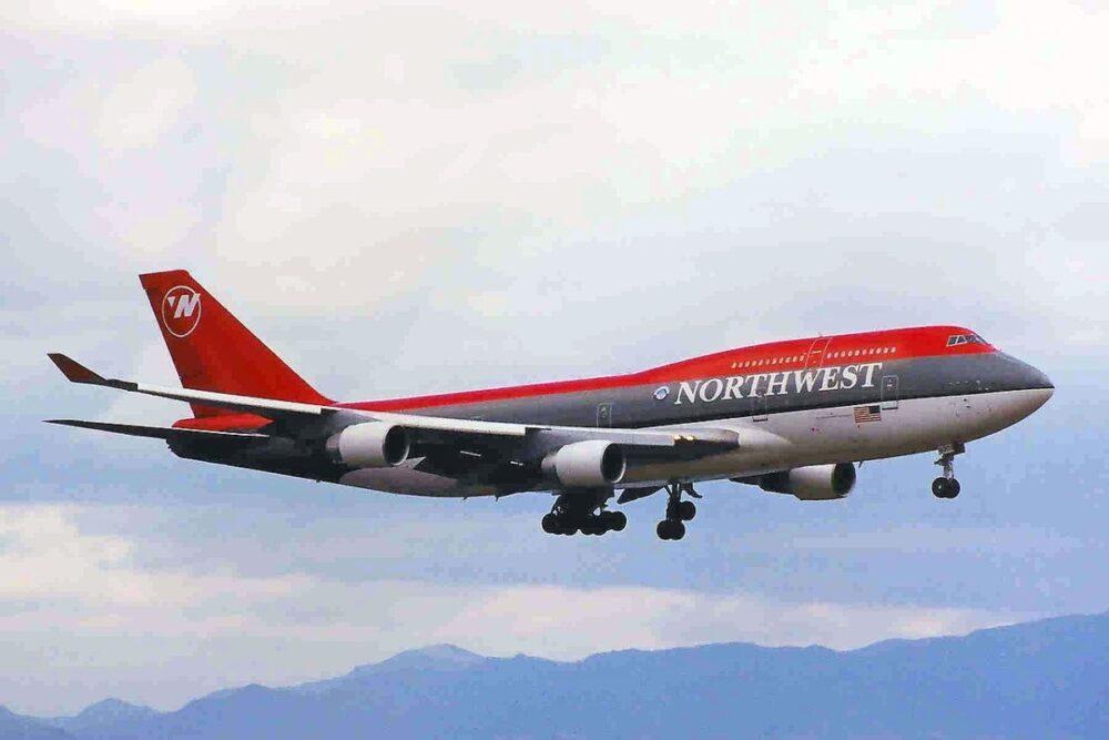 Northwest 747