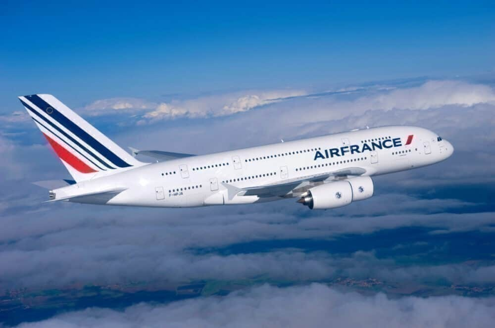 Air France flying