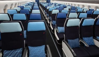 Air France A350-900 cabin