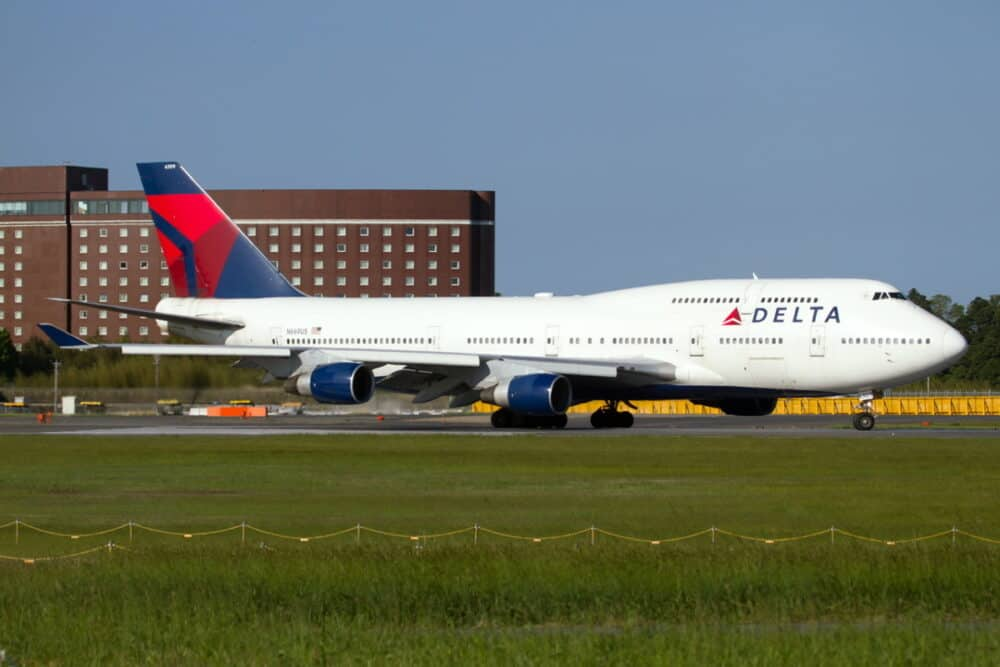 Delta Boeing 747