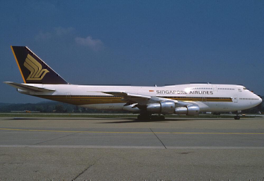 Singapore 747 1988