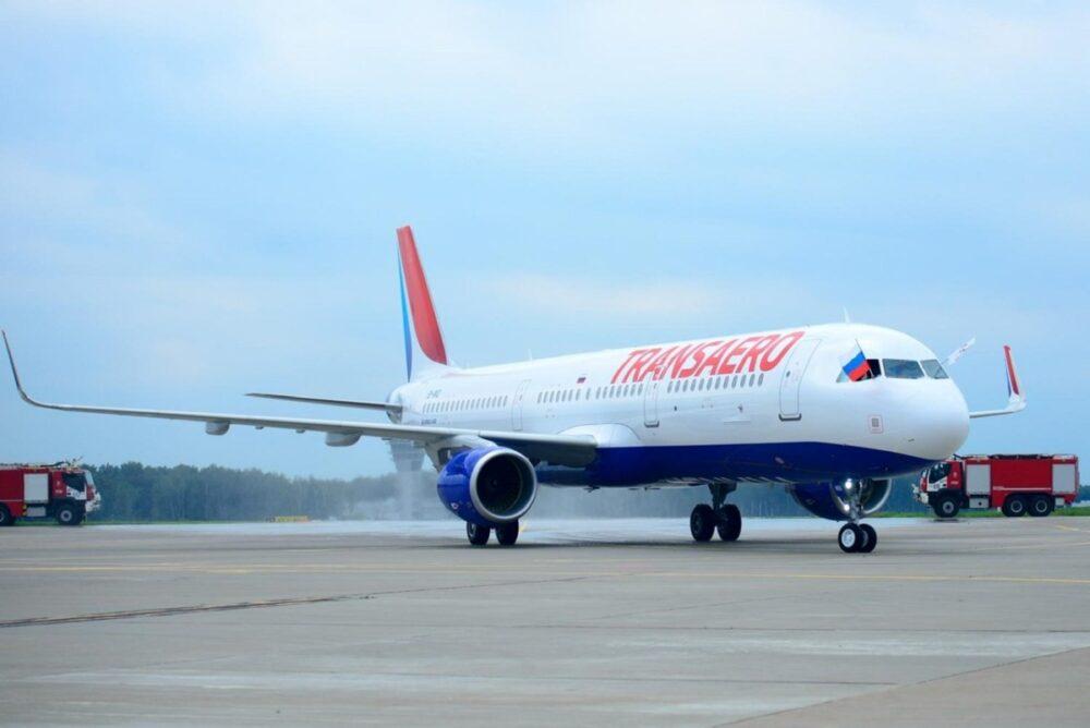 Transaero Airbus aircraft