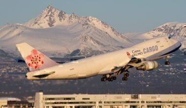 china airlines departing Anchorag