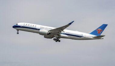 China Southern Airbus Aircraft