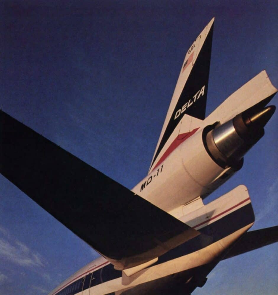 Delta Air Lines MD-11 Tail