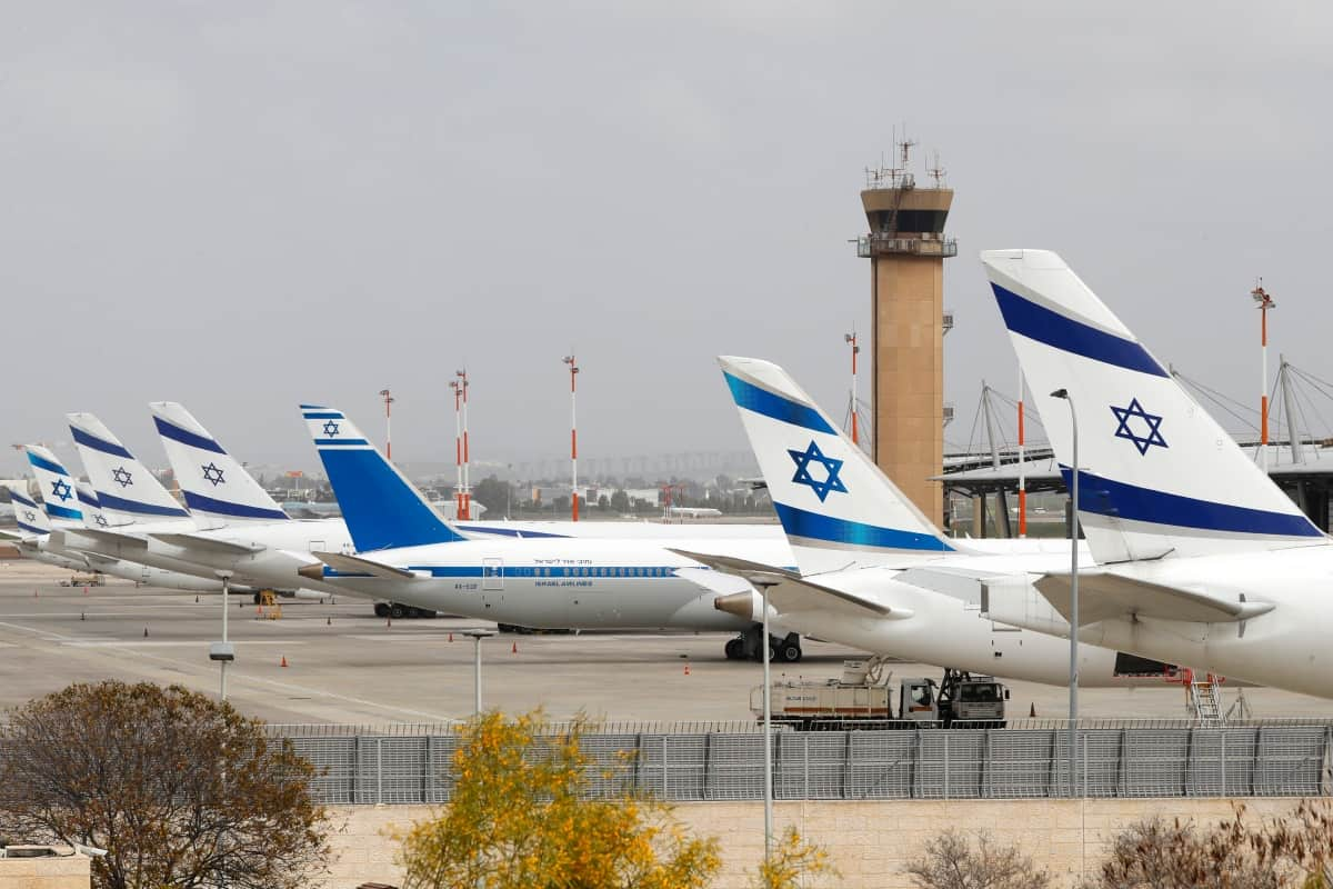 Israel Prepares To Reopen Its Main Passenger Airport Next Month