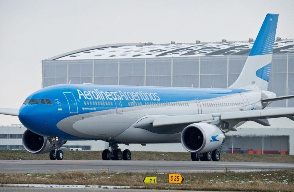 Aerolineas Argentinas Airbus A330 Flies 11 Hour Flight To Nowhere