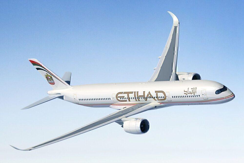 Etihad Airways, Airbus A380, Airbus A350