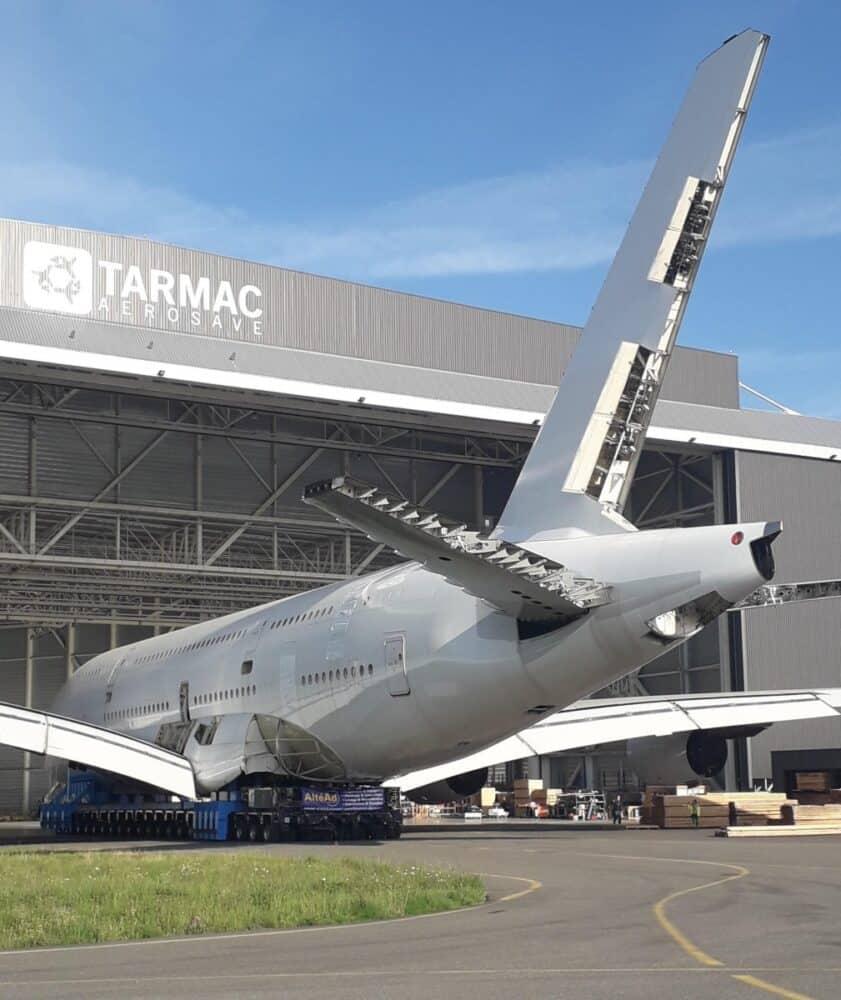 A380 scrapped