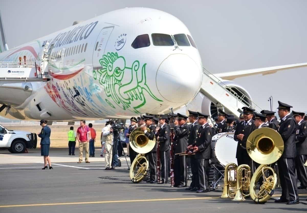 Aeromexico Dreamliner