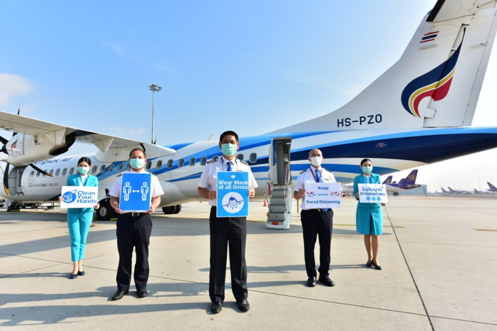 Bangkok Airways Crew Coronavirus Advisory