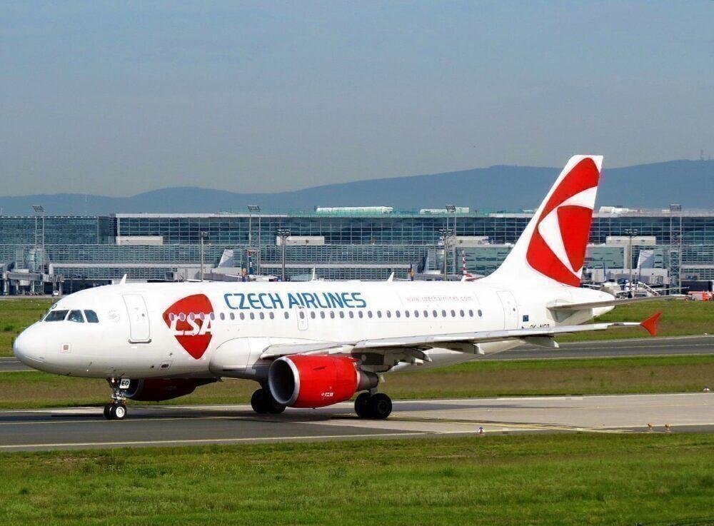 CSA Airbus A319