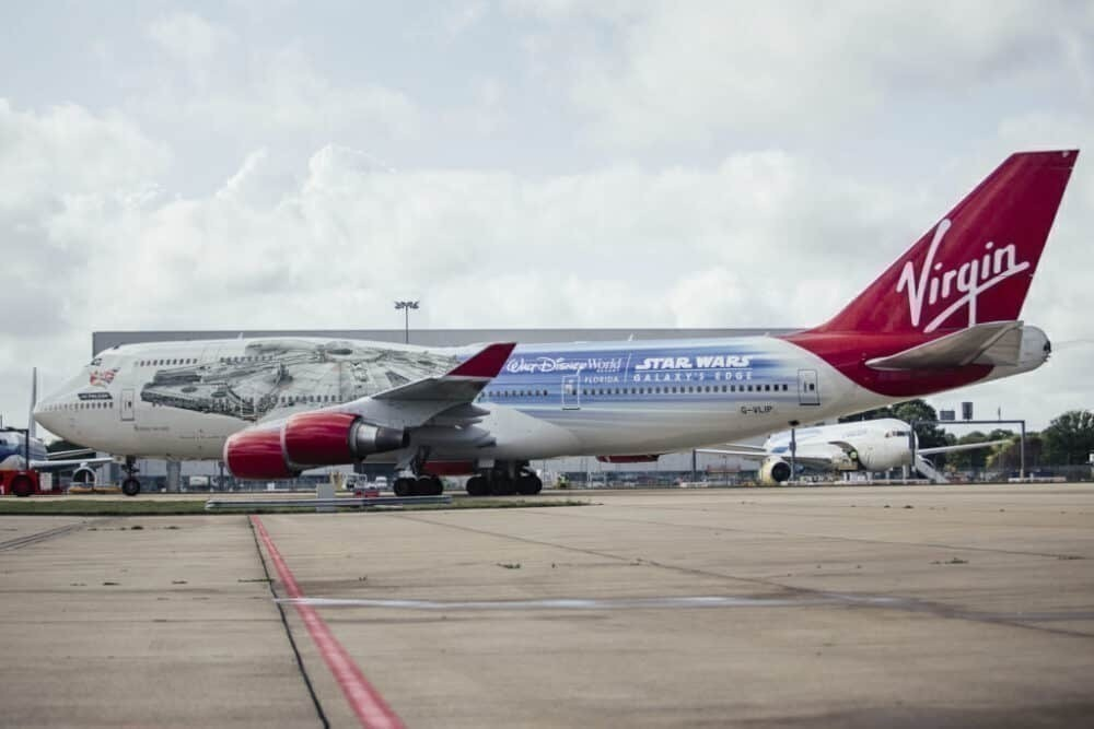 Virgin Atlantic, Boeing 747, Retirement