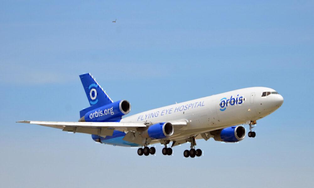 Orbis, Flying Eye Hospital, MD-10