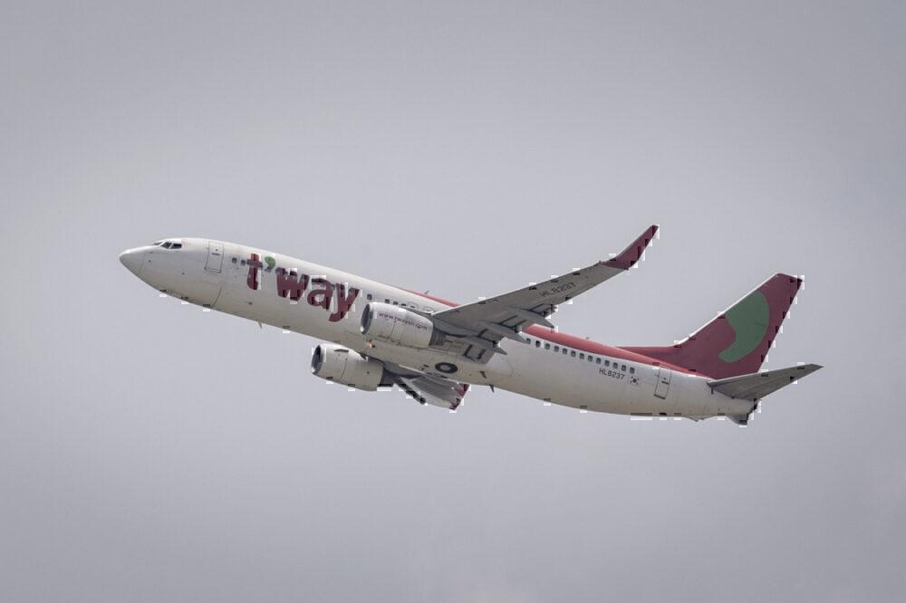 T'Way Air Boeing