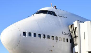 747 Roof hatch Qantas