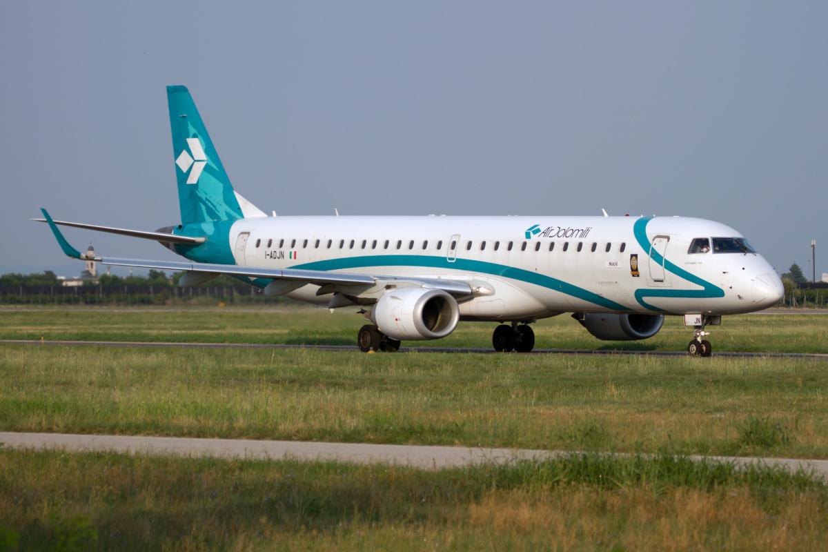 Air Dolomiti Embraer Getty