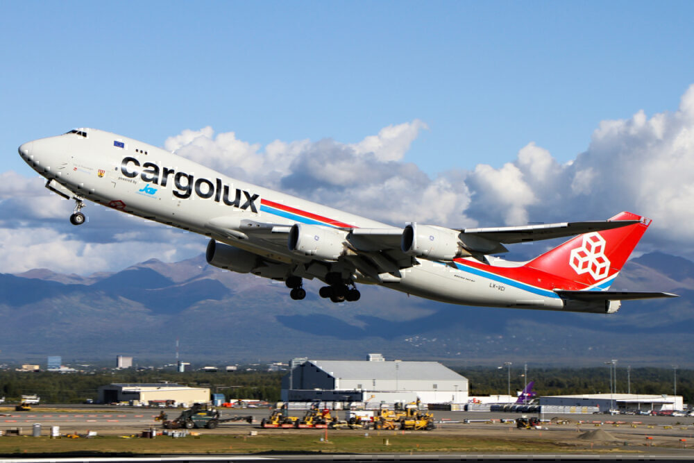 Cargolux 747 anchorage getty