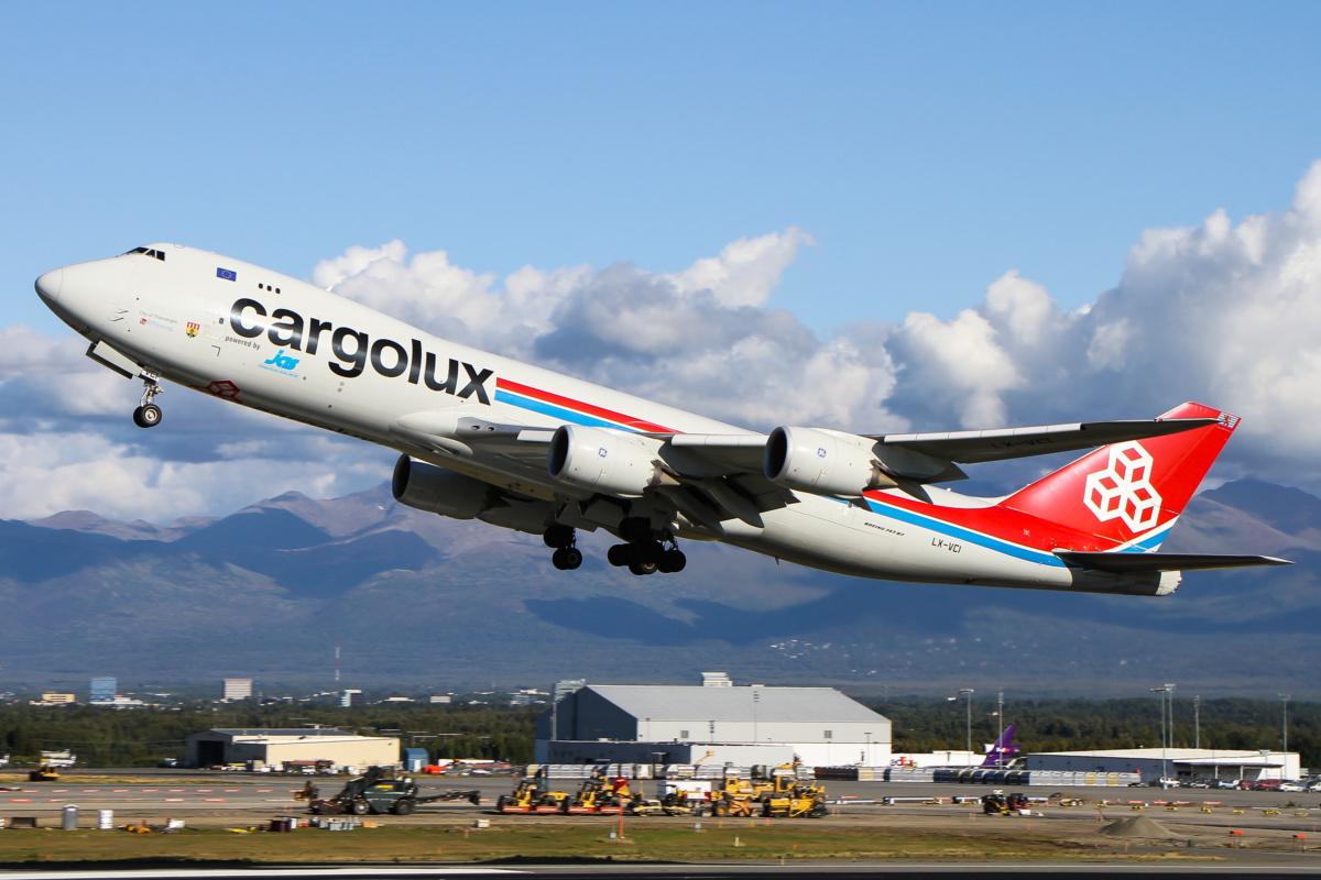 Cargolux in flight