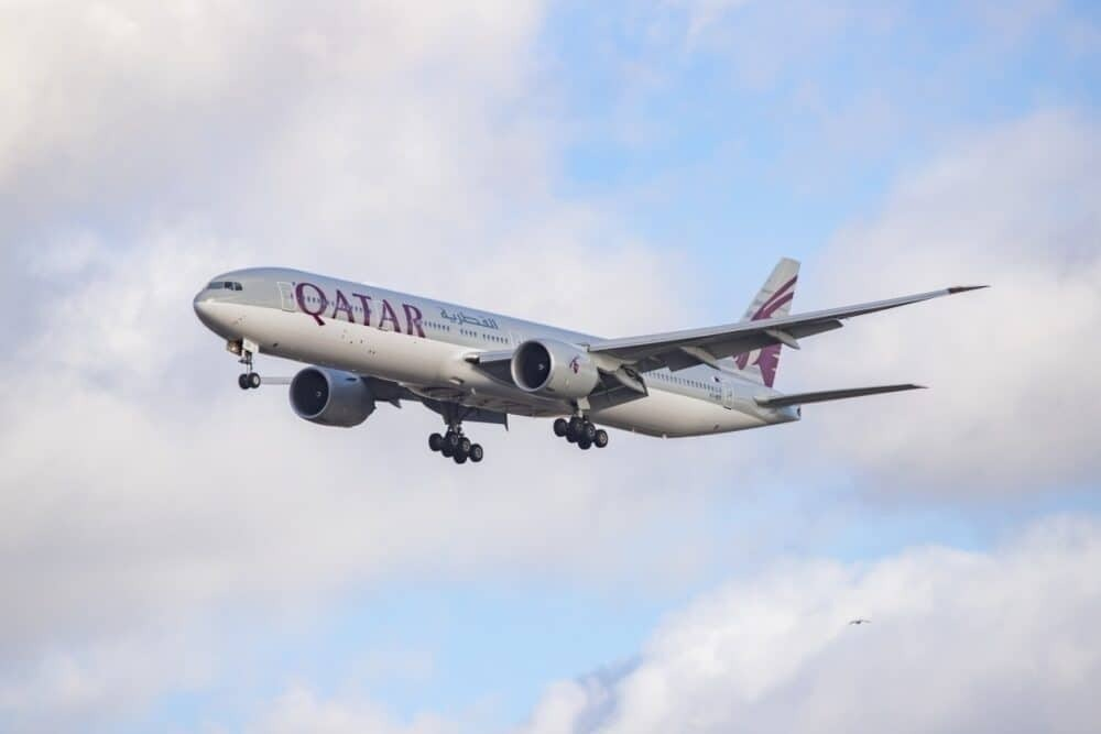 Qatar Boeing 777-300 Getty