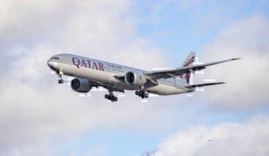 Qatar Boeing 777-300 Getty