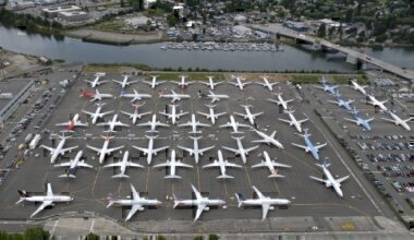 737 MAX production