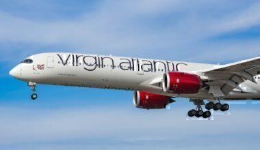Virgin Atlantic, Summer 2021, Schedule
