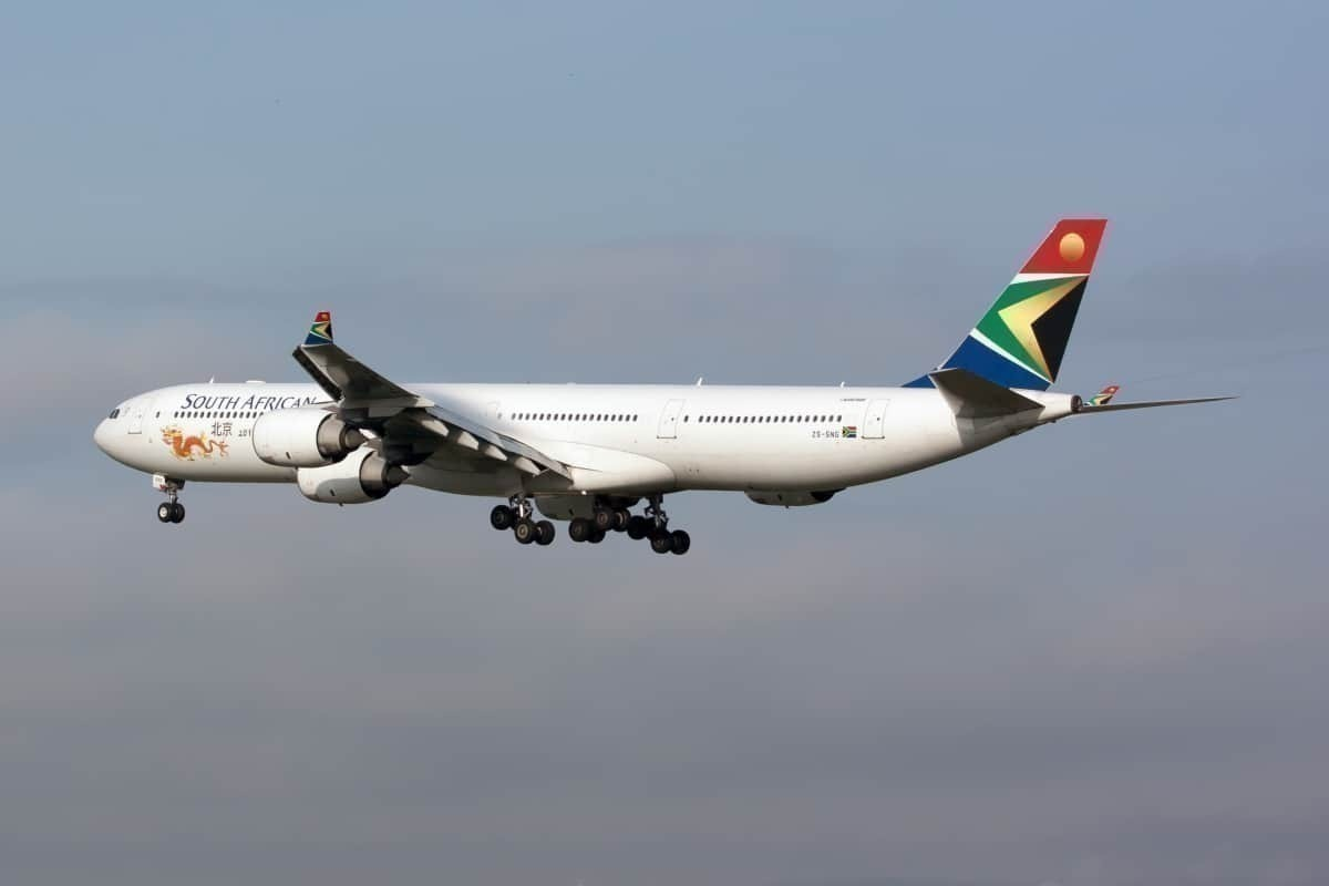 South African Airways SAA A340