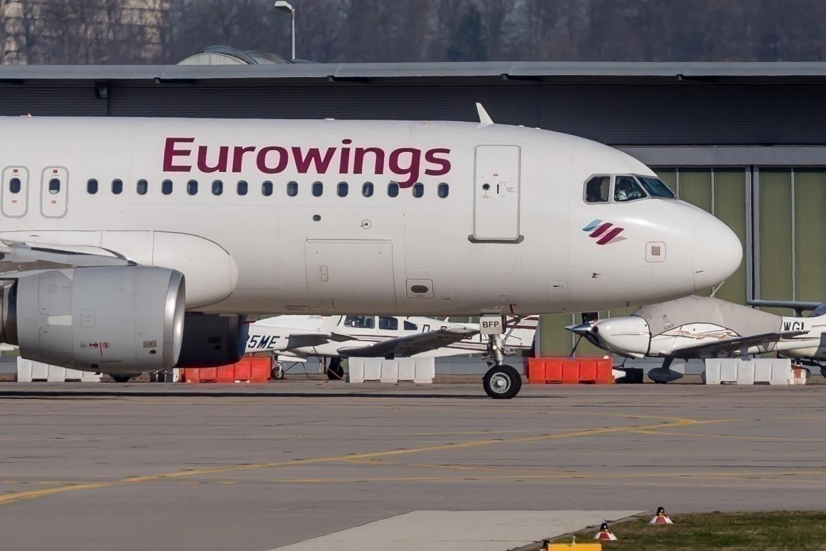 eurowings a320 a319