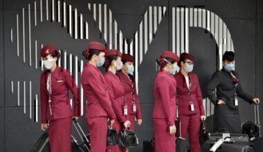 Qatar Airways cabin crew coronavirus