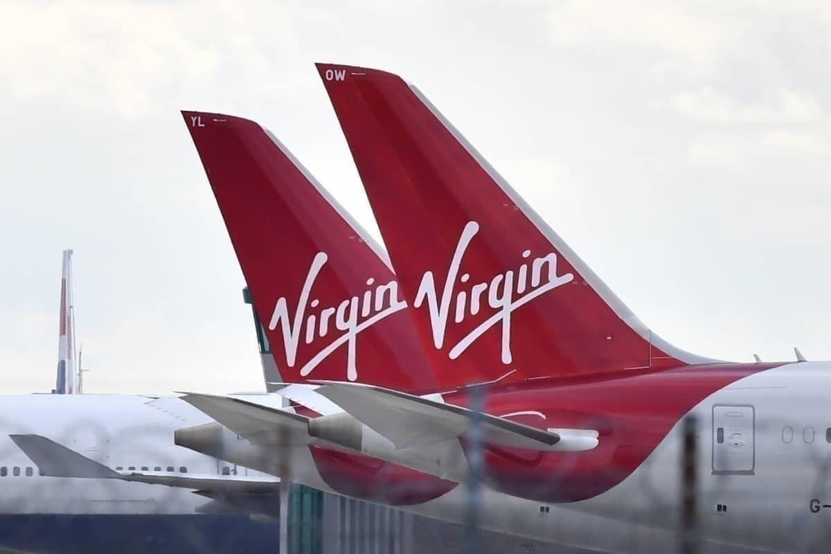 Virgin atlantic livery