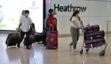 UK Quarantine Heathrow