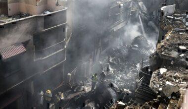 PIA crash Karachi