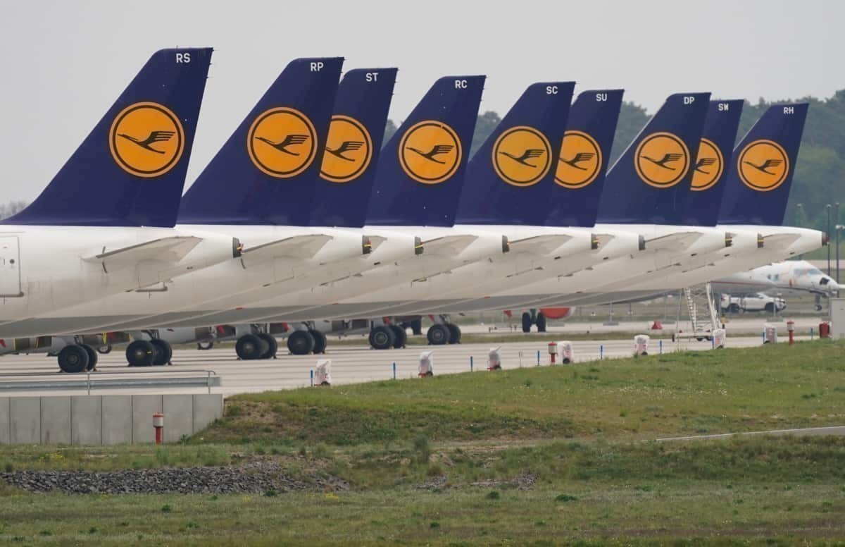 Lufthansa Agrees German Government Aid Package