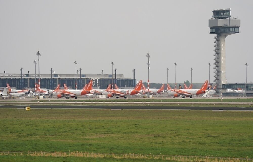 Easyjet grounded