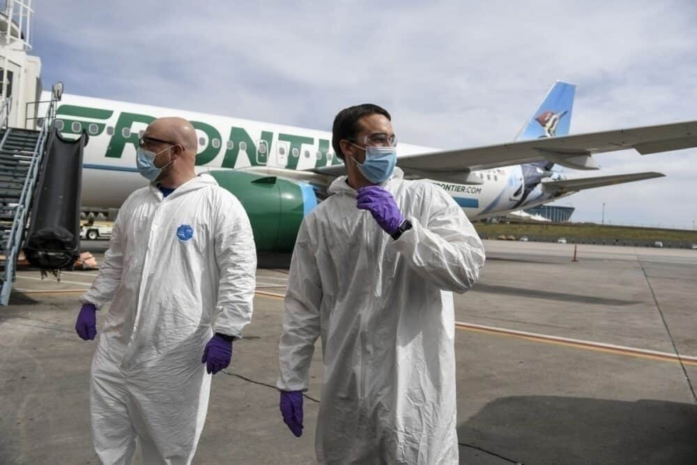 Frontier Airlines covid-19 coronavirus