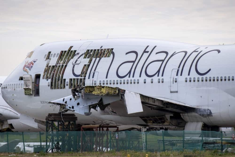 Virgin Atlantic, Boeing 747, The Falcon