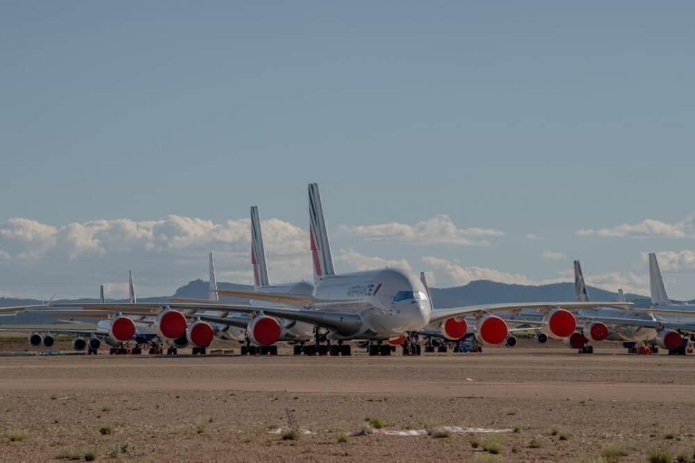 Air France, Airbus A380, Retirement