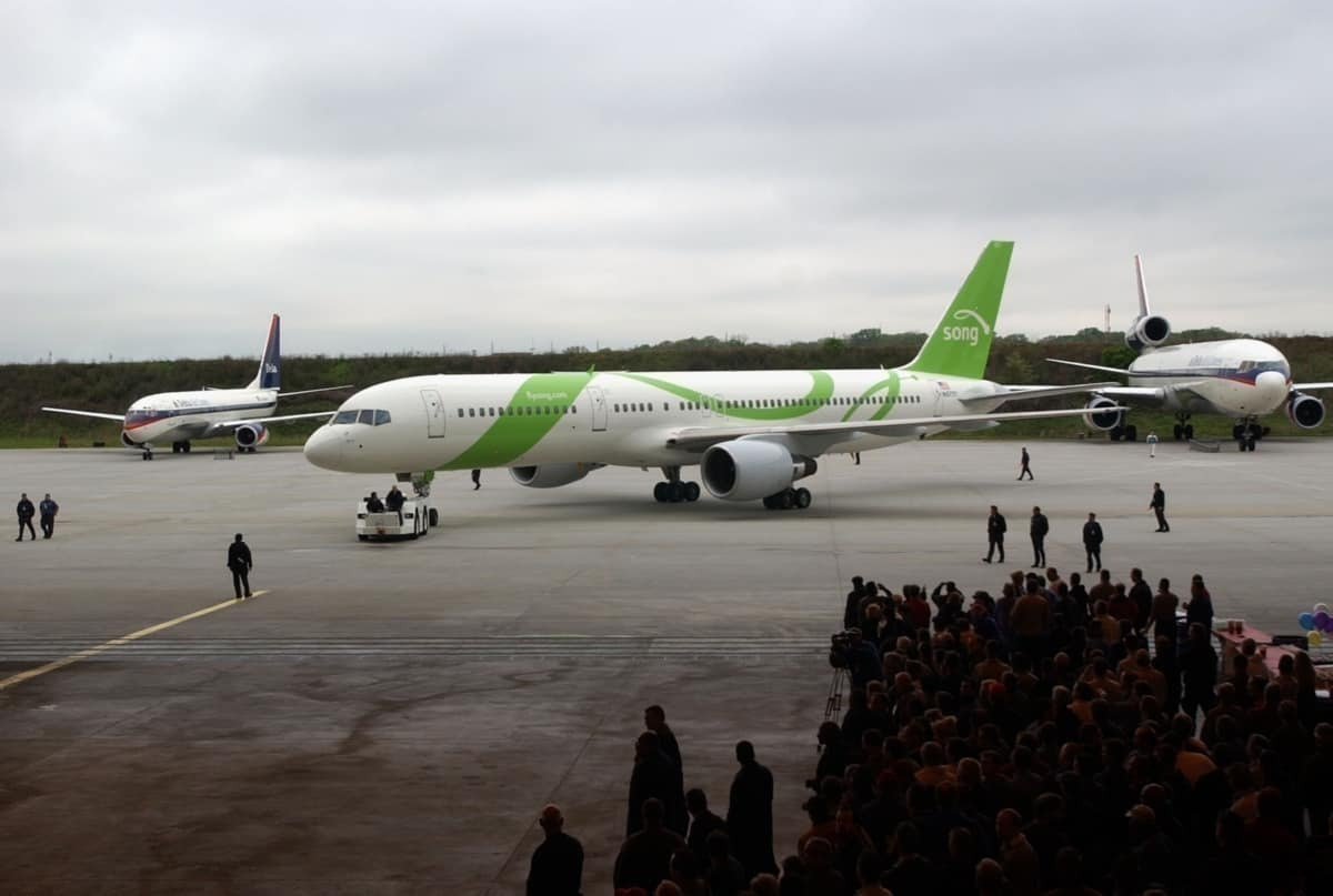Why Did Deltas' Low-Cost Carrier 'Song' Fail?