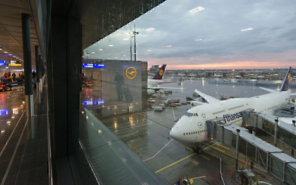 frankfurt 747 lufthansa