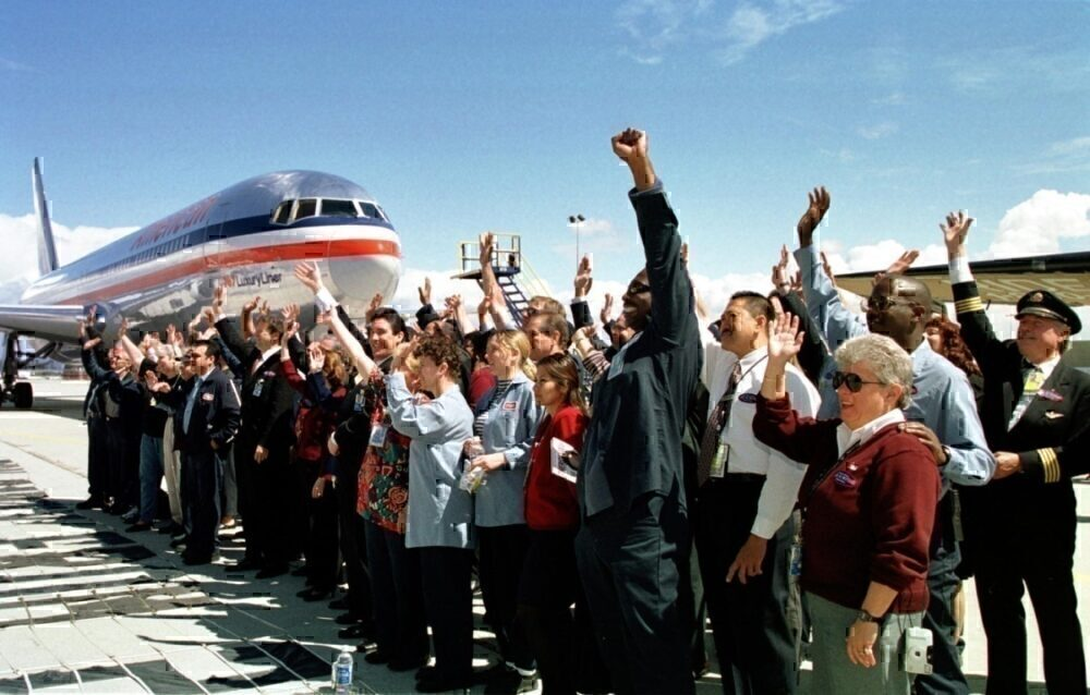 Employees of Trans World Airlines and American Air