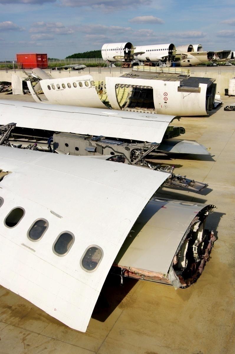 Aircraft scrapping