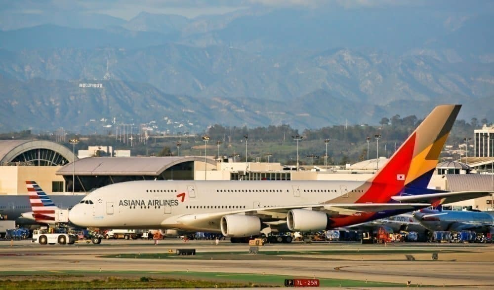 Asiana Airlines, Airbus A380, ghost flights