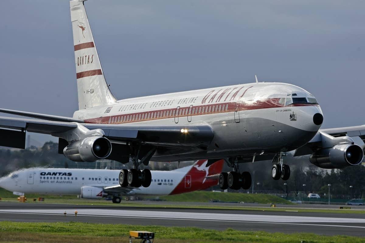 qantas 707 getty