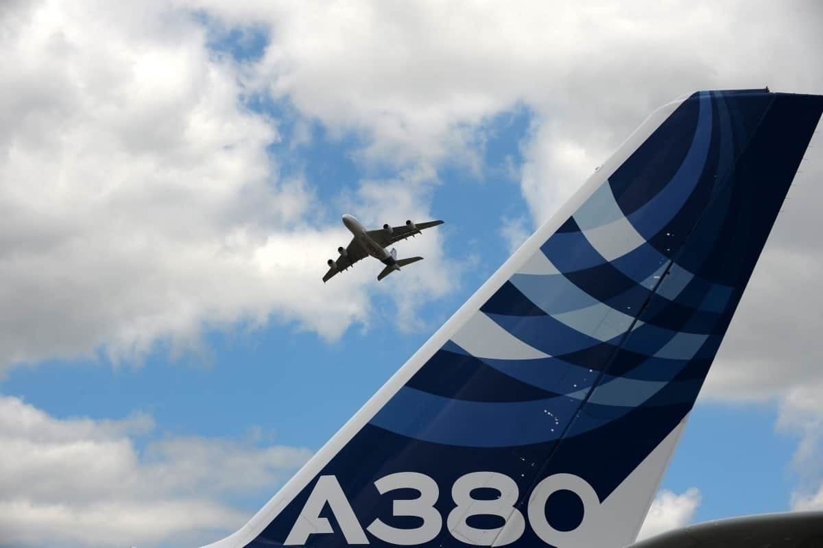A380 tail, Airbus