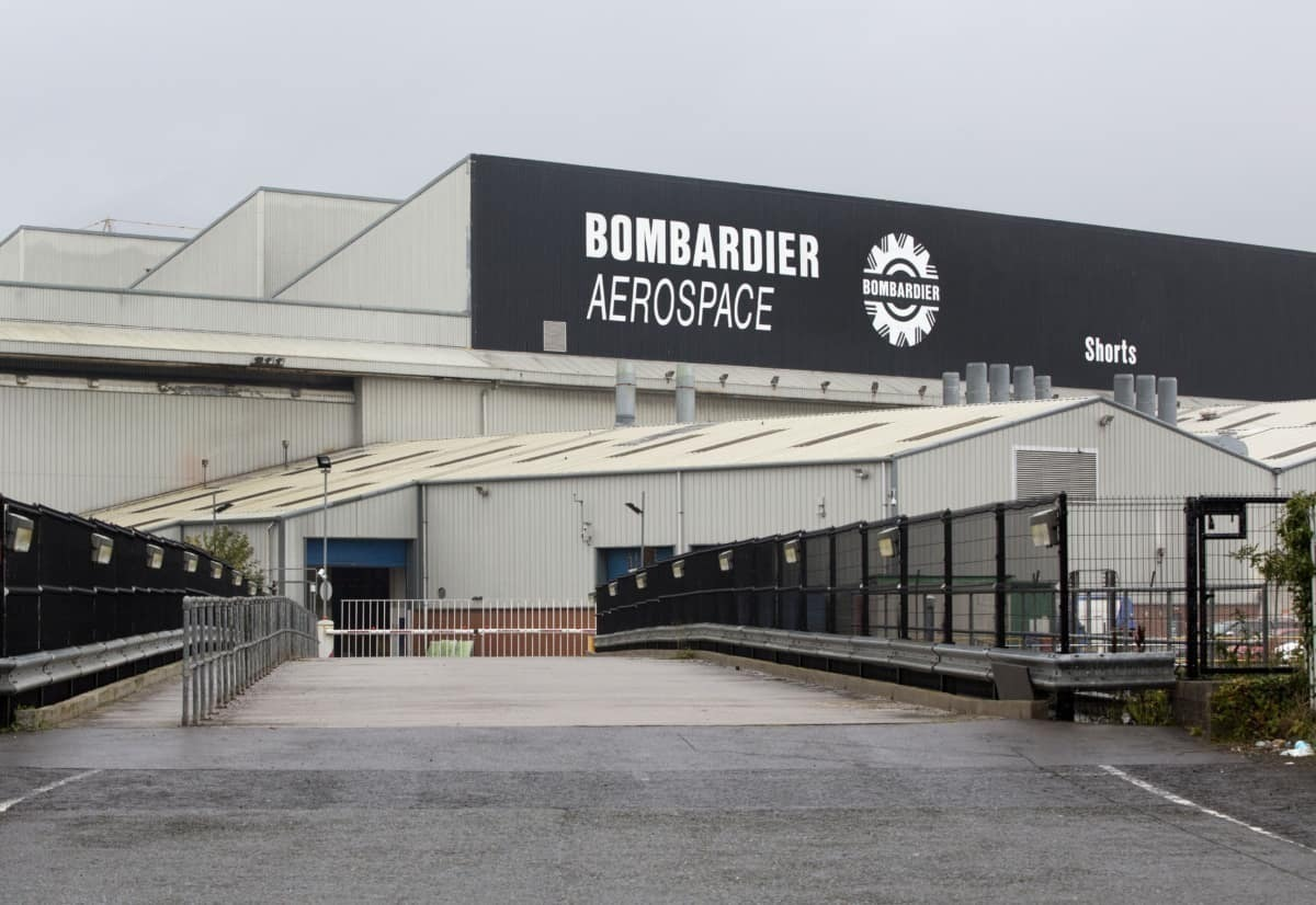 Massive Fire Breaks Out At Bombardier Aerospace Facility - Simple Flying