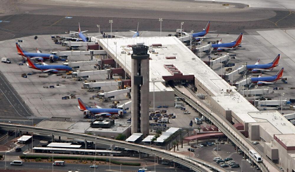 Las Vegas McCarran Airport -Getty